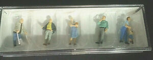 PREISER-HO-FIGURES-Set-10454-PASSERS-BY-1-87-scale-Hand-painted-NIB