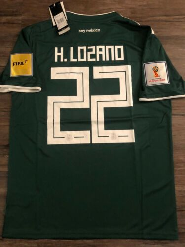 MEXICO AWAY-HOME JERSEY *FIFA WORLD CUP 2018 HIRVING LOZANO
