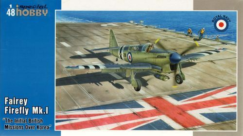 Special Hobby 1 48 Fairey Firefly Fr Mk.l Initiale Britannique Missions Over
