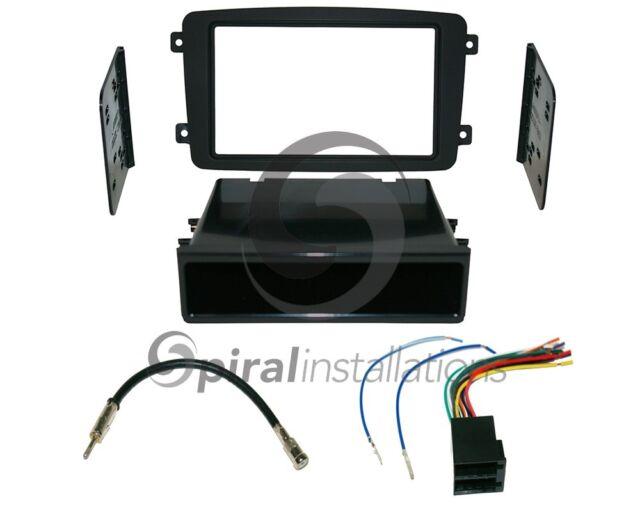 MERCEDES BENZ C-CLASS 2001-2004 SD Radio Stereo Installation Dash Kit Combo