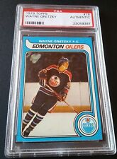 Wayne Gretzky Rookie #18 Original Topps 1979 Edmonton Oilers Trading Card