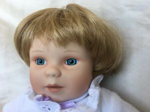 "ASHTON-DRAKE Yolanda Bello ""Monday Baby"" Porcelain 12"" Realistic/Lifelike Doll"