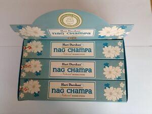 Wholesale-Hari-Darshan-Ethical-Incense-12-x-16-Stick-Box-pack-Nag-Champa-Scent