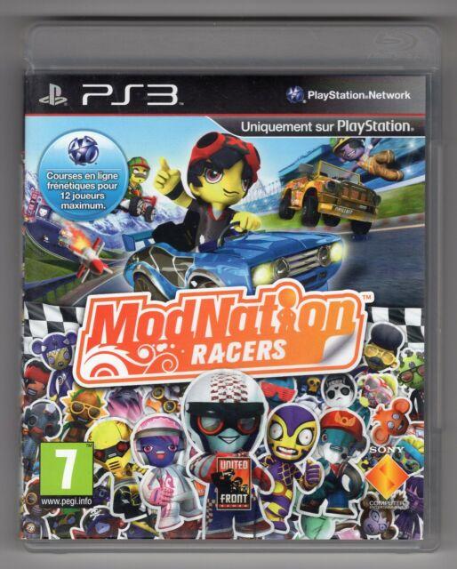 JEU PS3 ★ MODNATION RACERS ★ SONY PLAYSTATION 3 ★ COMPLET