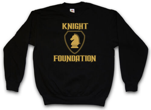 Knight Foundation Felpa Rider Industries Kitt CAR Hasselhoff Felpe Pullover