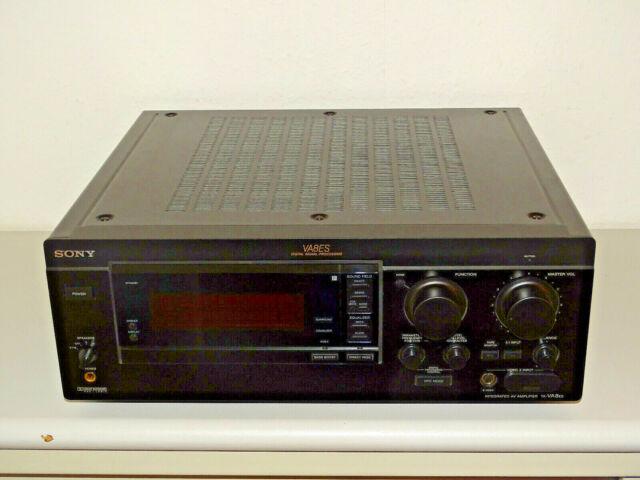 Sony ta-va8es high-end amplificador estéreo negro, bien cuidadas, 2 años de garantía