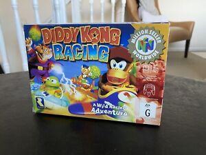 Diddy Kong Racing N64 AUS PAL Versión en Caja CIB 🔥 Caliente Juego 🔥 gran condición 🔥