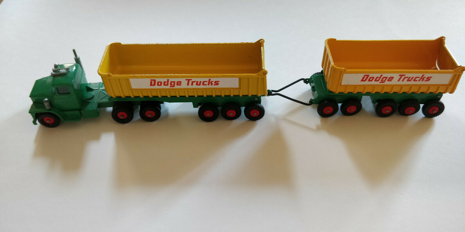 Matchbox K16 Dodge Tractor & Twin Tippers