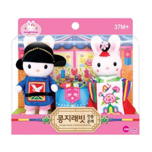 One /& One Konggi Rabbit Traditional Wedding Toy