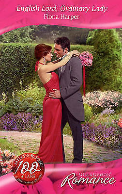 Very Good Harper, Fiona, English Lord, Ordinary Lady (Mills & Boon Romance), Pap