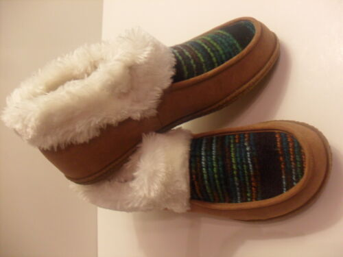 NEW INDIGO RD WOMENS WINTER SLIPPERS SHOES CARAMEL IRFINLEY US SIZES