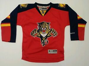 brand new d1dee 38984 Details about Vintage Reebok Florida Panthers Red Jersey Youth Size Small  NHL Hockey Fan Kids