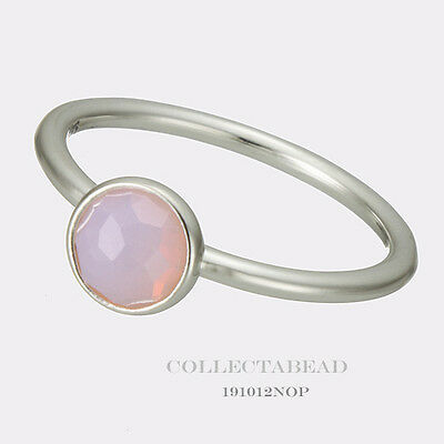 1ca50e0877a17 Authentic Pandora Silver October Droplet Opalescent Ring Size 48 (4.5)  191012NOP   eBay