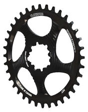 Blackspire Snaggletooth Narrow Wide 1x SRAM Direct Mount MTB Chainring Black 36t