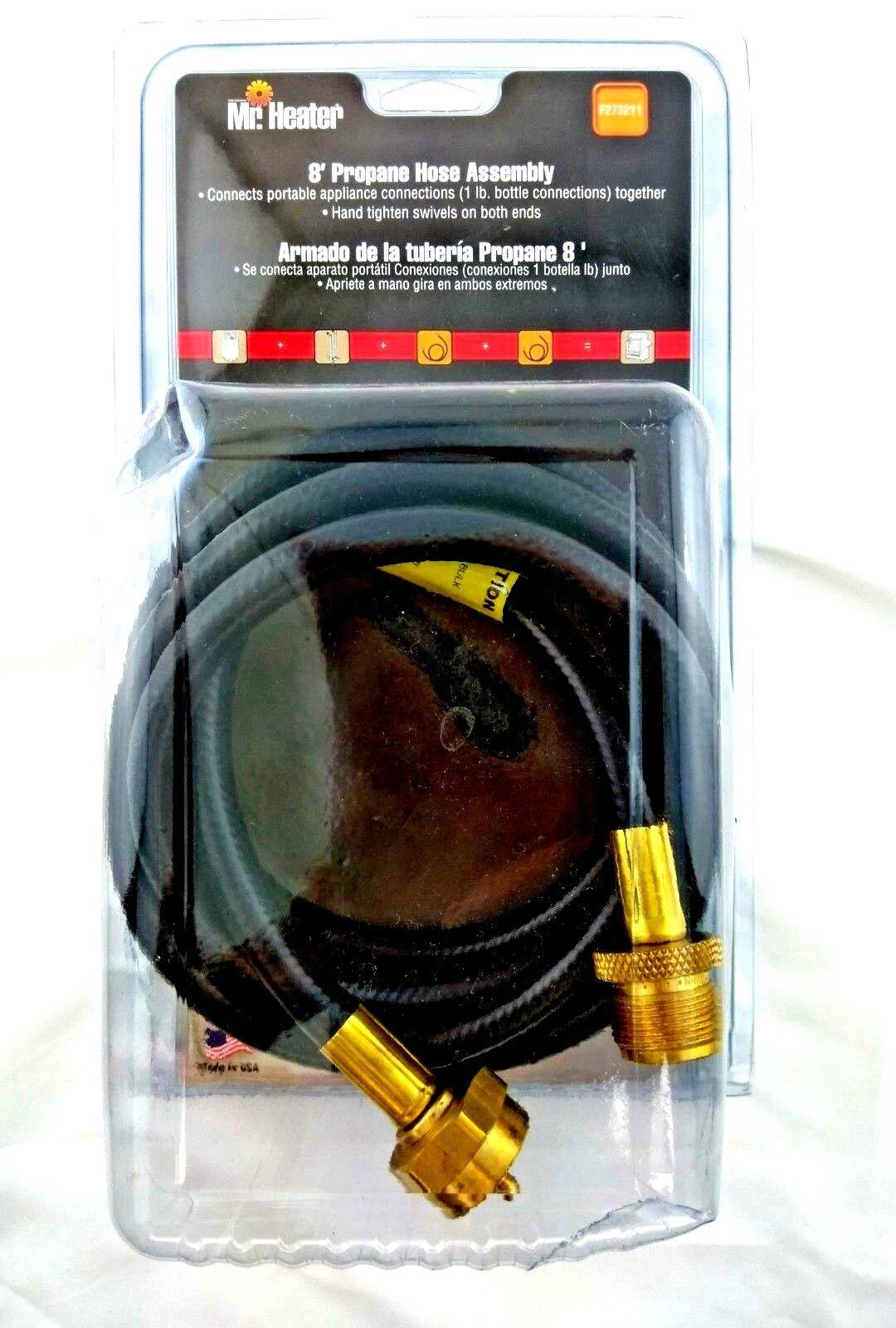 Mr Heater 8 Propane Hose Assembly F273211 Ebay Big Buddy Wiring Diagram Stock Photo