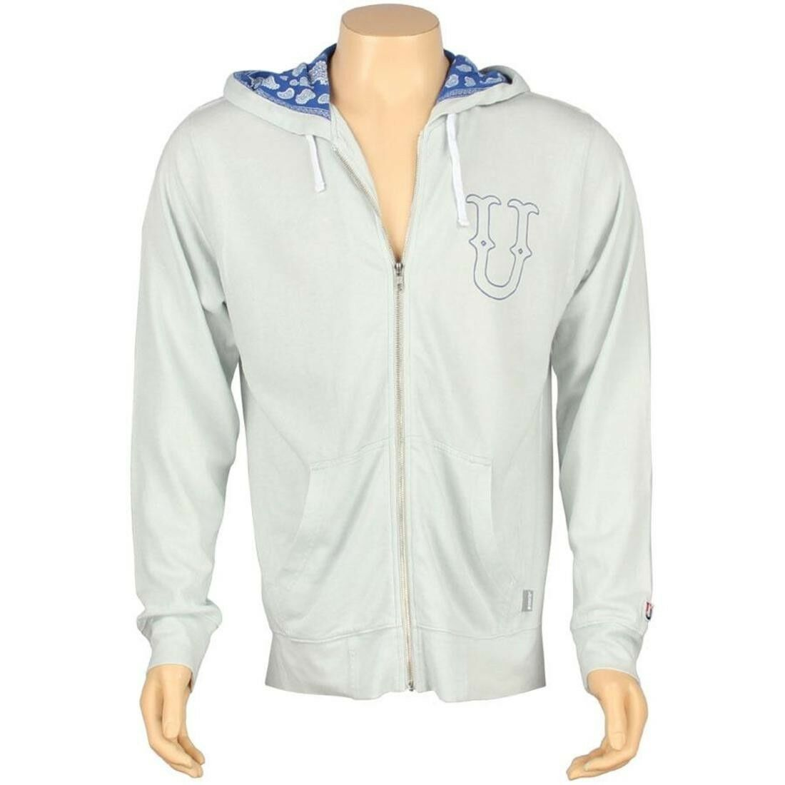 87.99 Undefeated U And D Zip Up Hoody (Grau) 5018127GRY