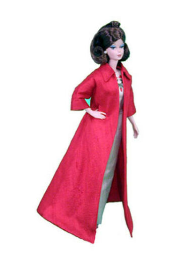 """Coat Doll Clothes Sewing Pattern for 12/"""" Fashion Royalty Integrity"""
