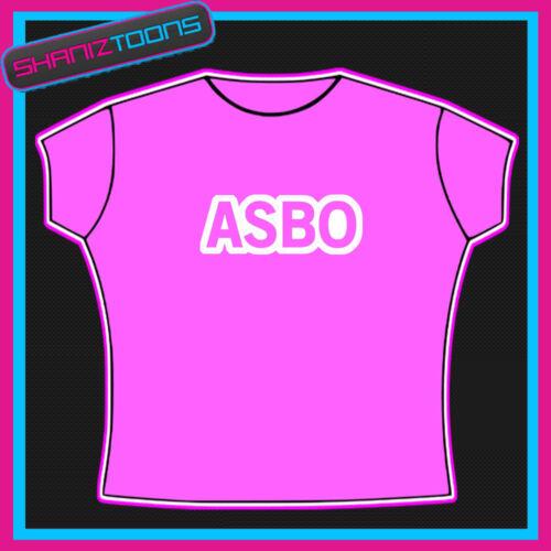 ASBO anti social Chav Fancy Dress T Shirt