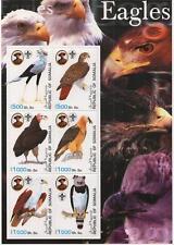 EAGLE WILD BIRD ENDANGERED SPECIES REPUBLIC OF SOMALIA 2003 MNH STAMP SHEETLET