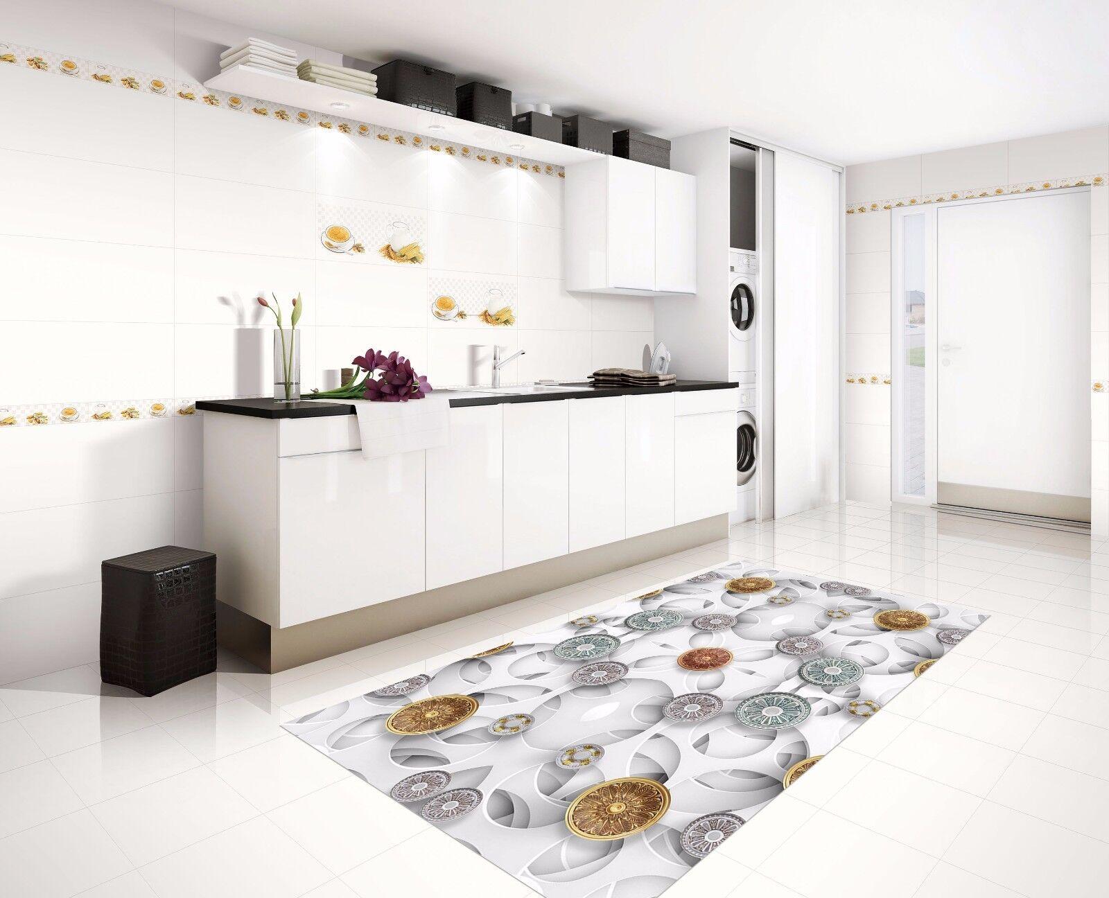 3D Pattern 725 Kitchen Mat Floor Murals Wall Print Wall AJ WALLPAPER UK Kyra