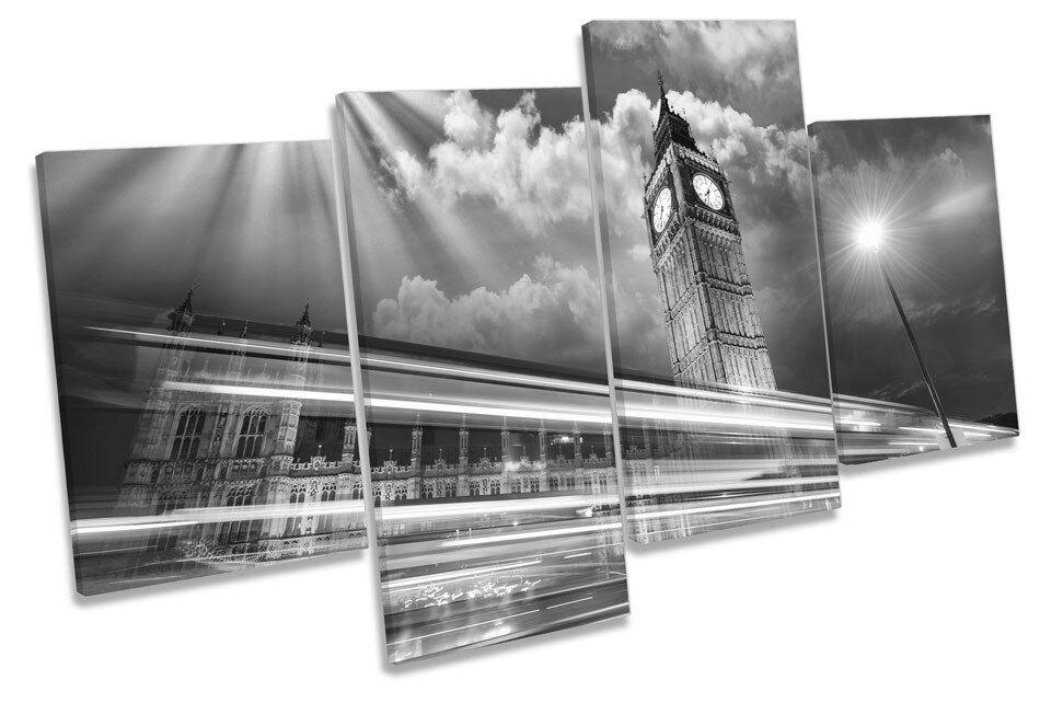 BIG BEN LONDON CITY tappe Multi Canvas WALL ART PICTURE PRINT