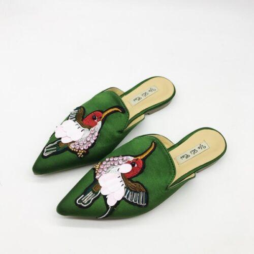 Simil Basse Ciabatte Colorate Verde Pelle 9856 Sabot Comodi Eleganti xqxY4n67wT