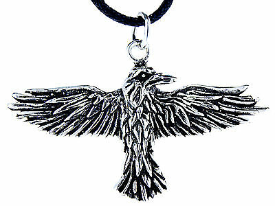 Odins Rabe Rave Odinsrabe Odin Hugin Munin Anhänger Silber 925 BandKette Nr. 29 | eBay