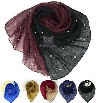 180X140CM *Mega* Maxi Premium Chiffon Plain Hijab Scarf Sarong Shawl Large Silk