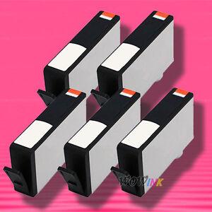 5-Non-OEM-New-Black-Ink-Alternative-for-HP-564XL-Deskjet-3070a-3520-3521-3522