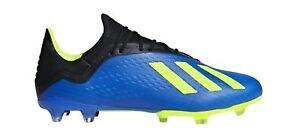 Adidas-Performance-Messieurs-cames-Fussballschuhe-X-18-2-FG-Bleu-Jaune