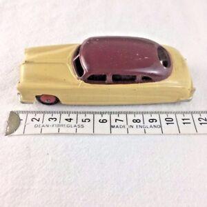 Dinky-Toys-Meccano-Hudson-Commodore-Sedan-171-Crema-amp-Borgona-Granate