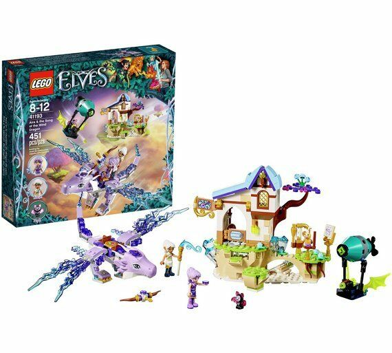LEGO LEGO LEGO Elves Aira Song of the Wind Dragon fonction et Spinning Hélice 41193_UK 84889e