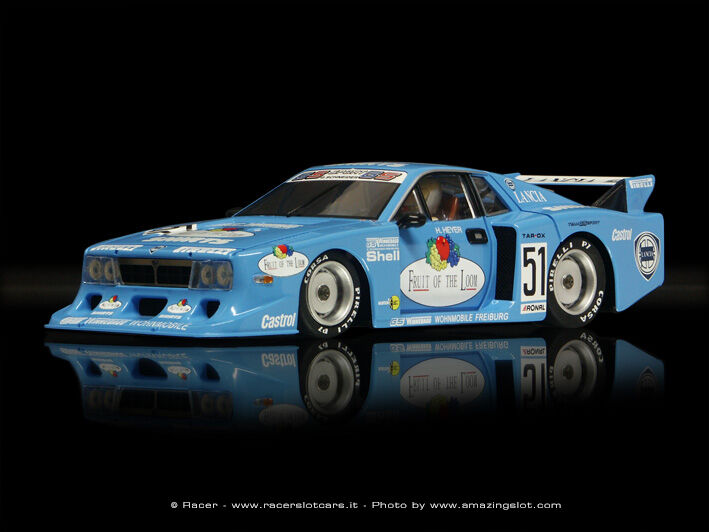 Racer Sideways Sw18 Sw18 Sw18 Lancia Beta Montecarlo  Fruit Of The Loom  DRM 1 32 Slot Car  venta al por mayor barato