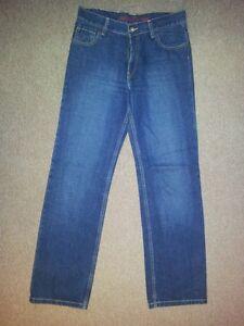 Tab Blau Levis Jeans Jeans Red Stonewashed L34 W30 SzwWEOqR