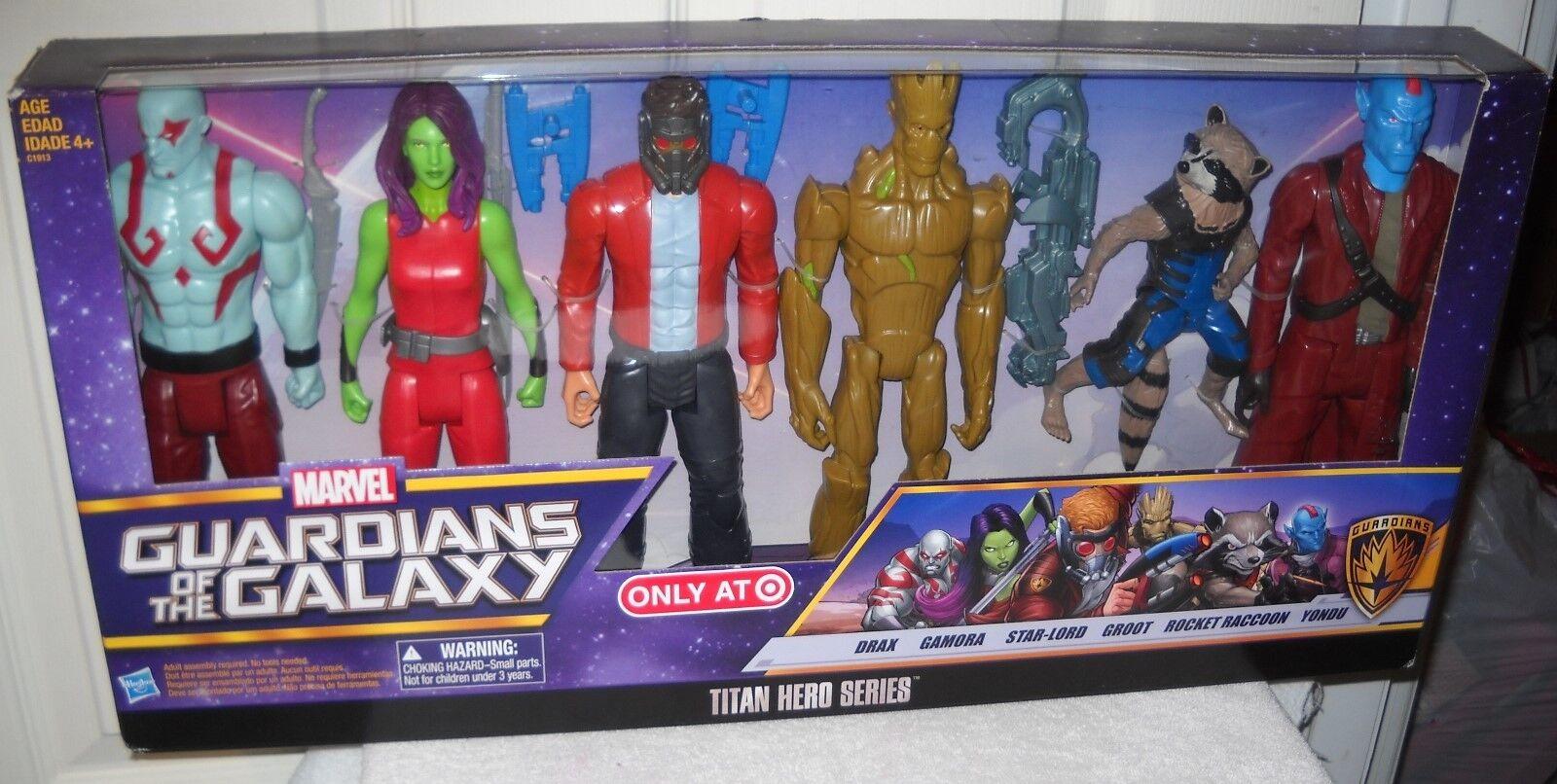 9646 nunca quitado de la Caja Hasbro Target almacena Marvel Guardianes de la galaxia Giftset