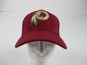NEW-New-Era-Washington-Redskins-Men-039-s-Maroon-Fitted-Hat-Multiple-Sizes