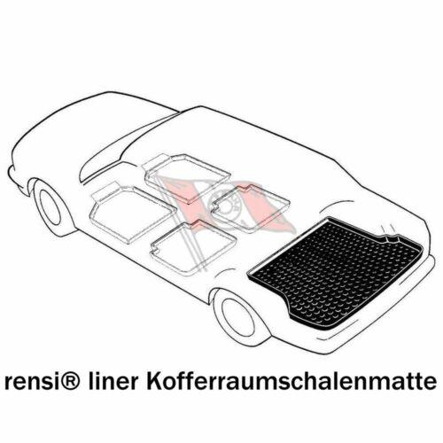 Kofferraumwanne antirutsch Mercedes GLE 04.15 W166 Bj