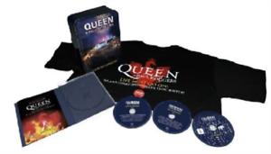 Queen-Live-in-Ukraine-UK-IMPORT-CD-with-DVD-NEW