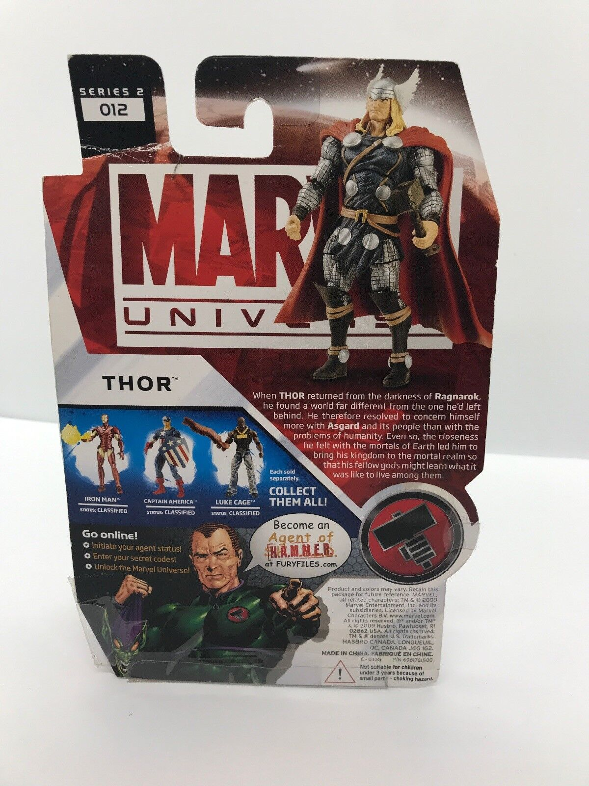 4 4 4 x Marvel Universe Series 2 Skrull Soldier, Thor, Havok,and  Constrictor 8cd9f4