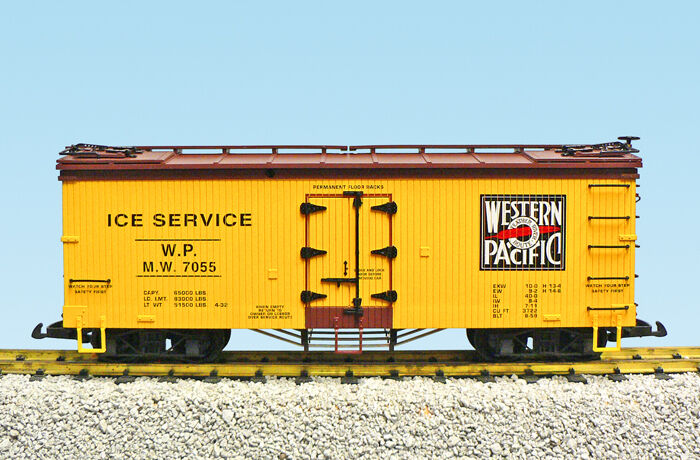 USA USA USA Trains G Scale R16488 W P Ice Service Assorted road 's