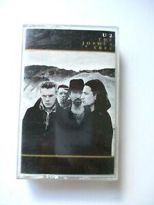 U2-The-Joshua-Tree-Cassette-Tape-1987-Island-Records-Vintage