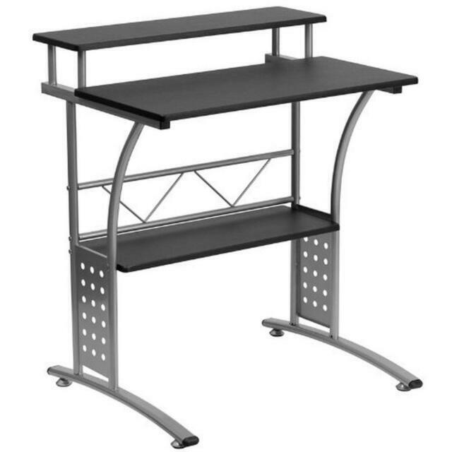 Flash Furniture Clifton Black Computer Desk - Black