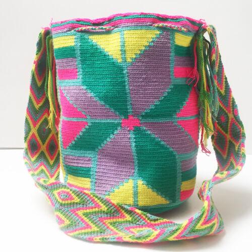 Wayuu hand geweven646 Mochila Authentieke tas j3LR54A