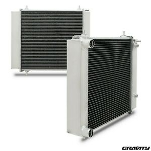 50mm High Flow Alloy Radiator Rad for Land Rover Discovery Defender 300 TDI