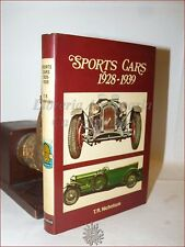 AUTO SPORTIVE Illustrato - Nicholson: SPORTS CAR 1928-1939 Blandford 1969 1a 1st