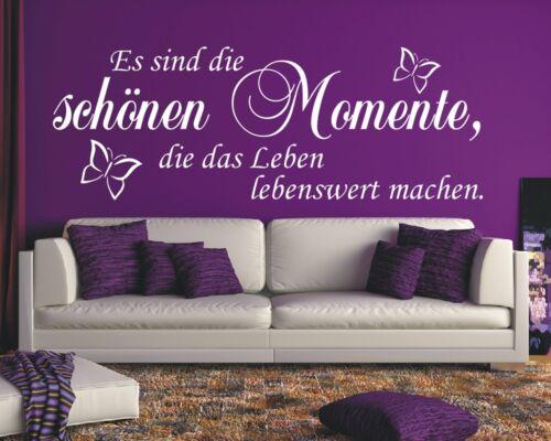 Mural Dicton-Ce sont les beaux moments dans la vie Murale Autocollant