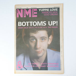 NME magazine 17 August 1985 THE POGUES cover Kid Creole Dusty Springfield