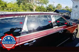 fit-2019-2020-Kia-Telluride-8Pc-Chrome-Pillar-Post-Stainless-Steel-Trim-Door