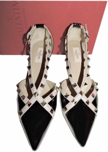 valentino Rockstud Leather D'orsay Pump