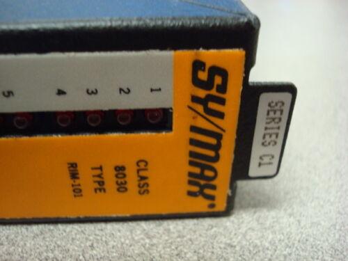 USED Square D 8030 RIM-101 SY//MAX Input Module Series C1